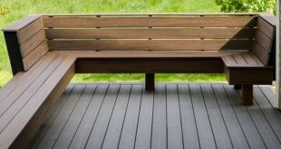 deck benches  56