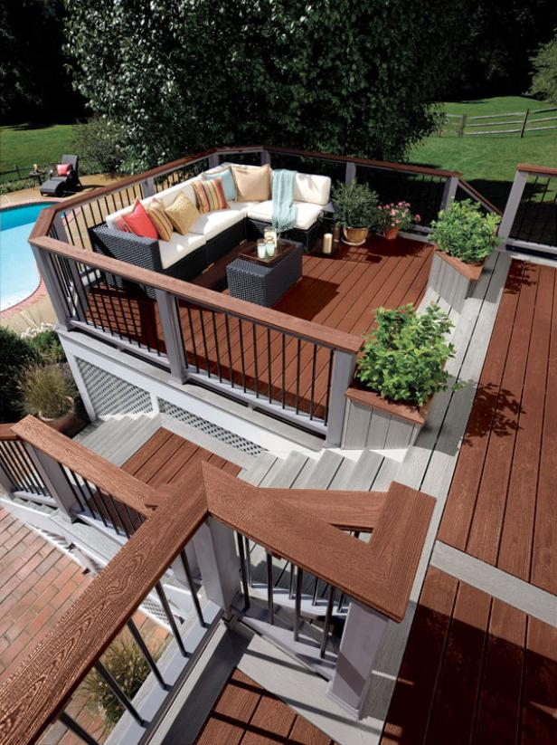 Deck design ideas for the most suited deck for your house