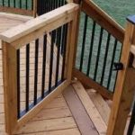 Deck Gates to secure your deck