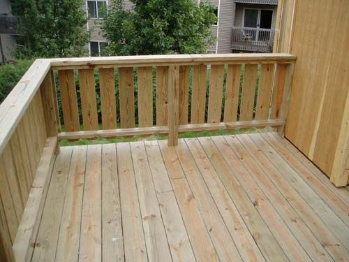Deck railing ideas  23