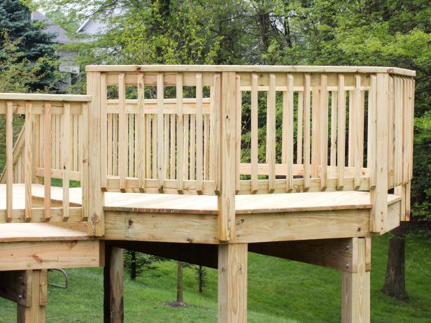 Deck railing ideas  39