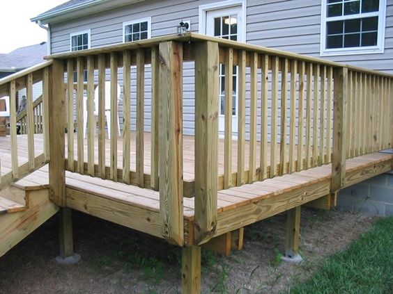 Deck railing ideas  51