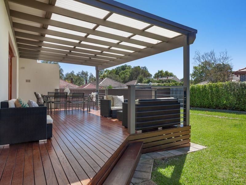 Go creative for your deck roof