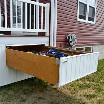deck storage  85