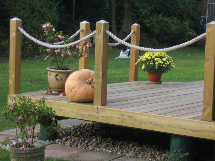 Decking Rope for the perfect style statement