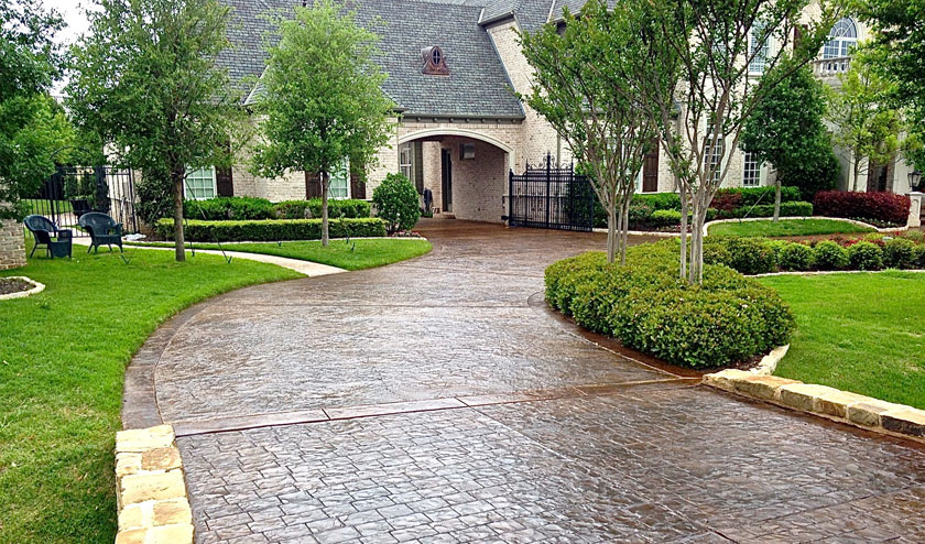 Driveway designs for luxury