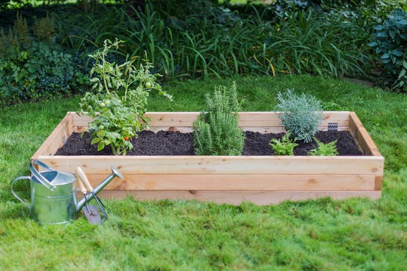 Elevated garden beds  83