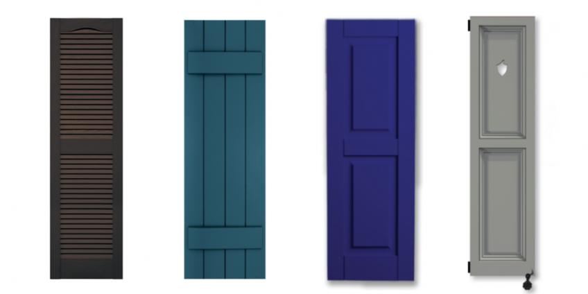 Exterior shutters  25