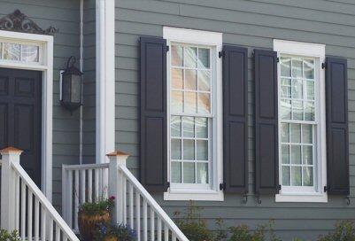 Exterior shutters 49
