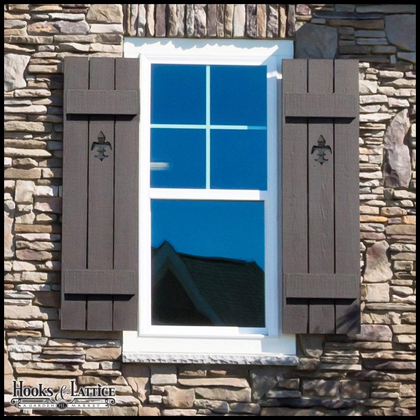 exterior window shutters  10