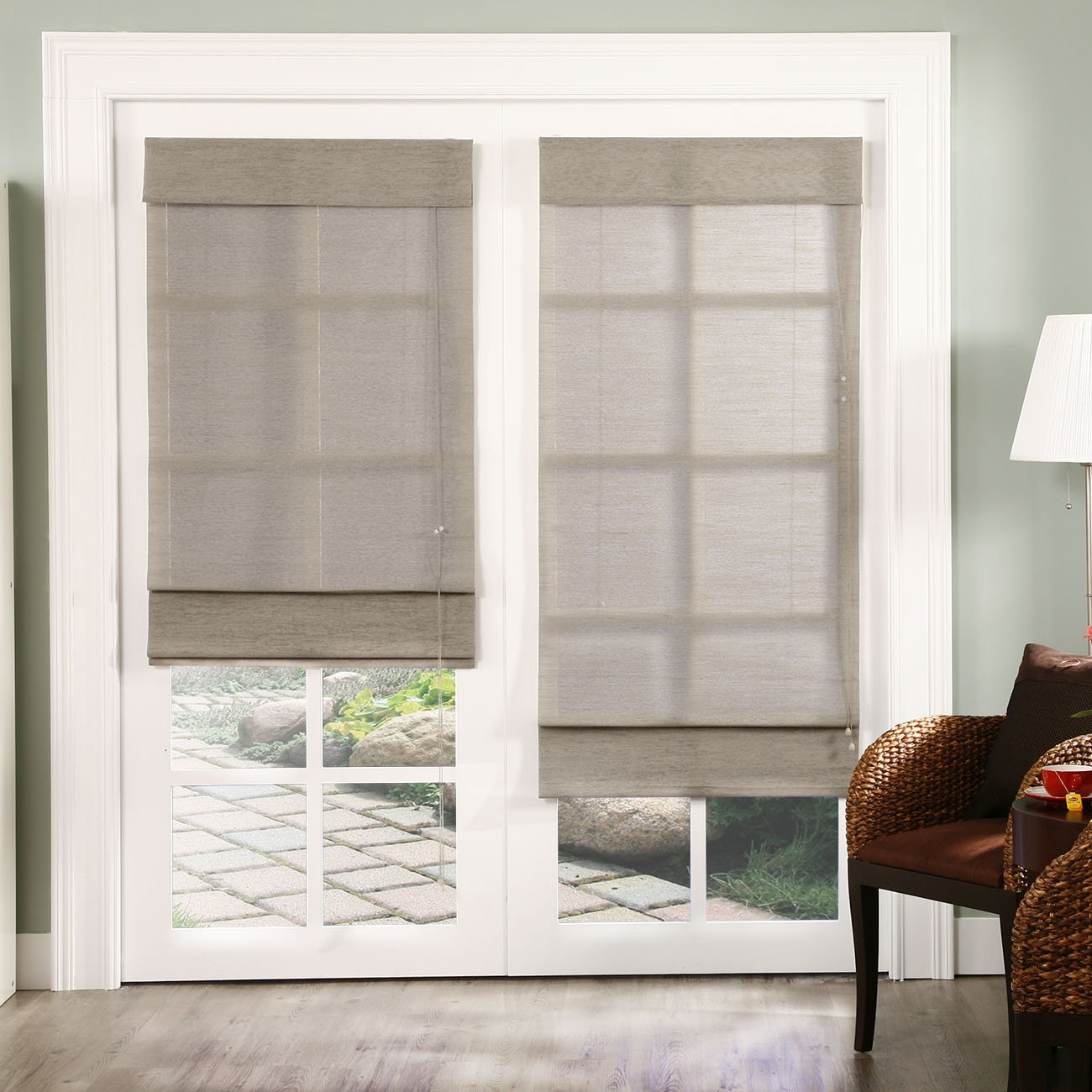 Fabric Roman shades for every home