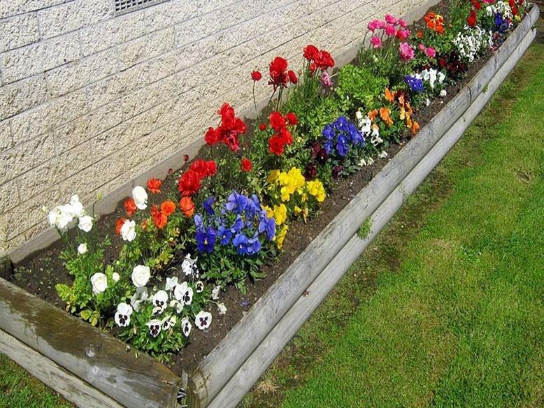 Flower bed ideas  09
