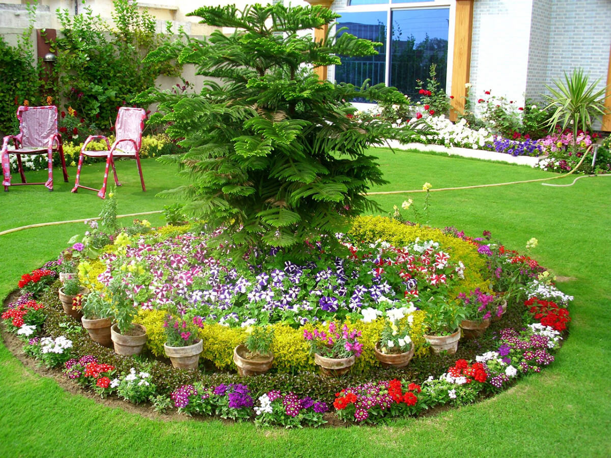 Flower bed ideas  41