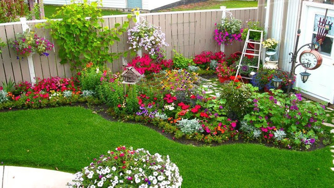 Flower bed ideas for the season