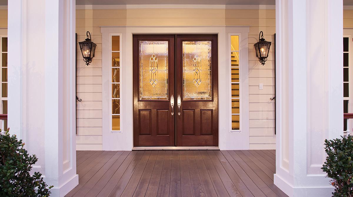 Front doors  15