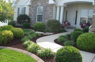 front yard landscape  36