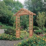 Decorate with garden arbors