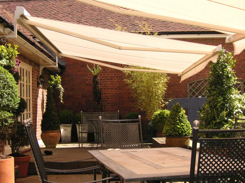 Make your garden beautiful by garden awnings