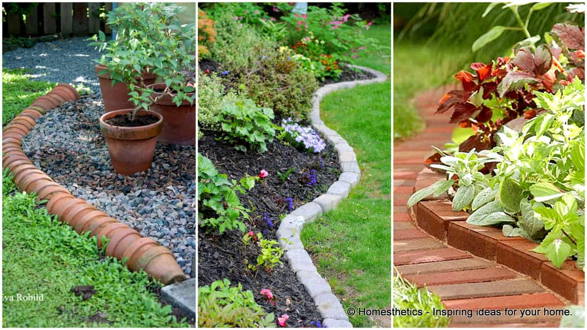 Garden edging ideas  71