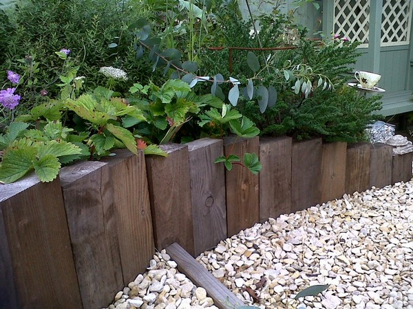 Garden edging ideas  76