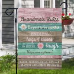 Enhance your garden beauty with beautiful garden flags