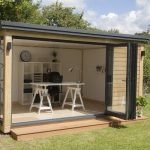 Build designable and durable garden office shed