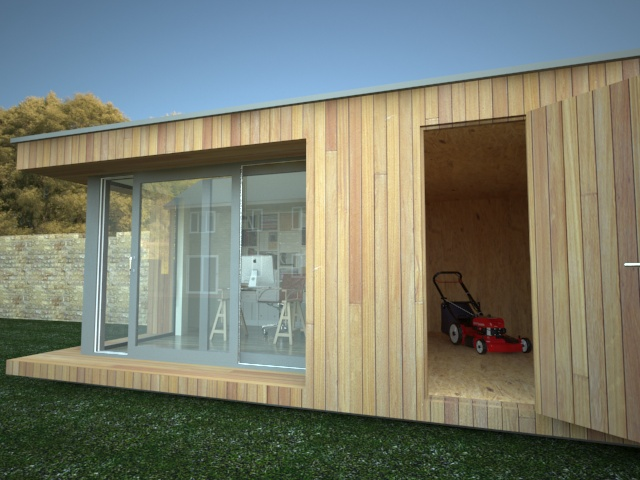 garden office shed  49