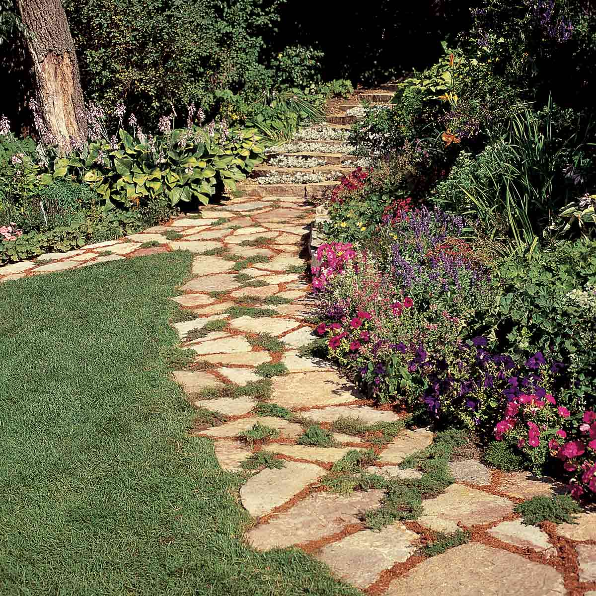Making A Wonderful Garden Path Ideas Using Stones: Things You Should Keep In Your Mind While Making Garden