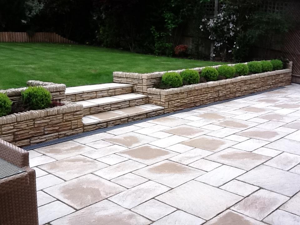 Modern and elegant designs of garden patios