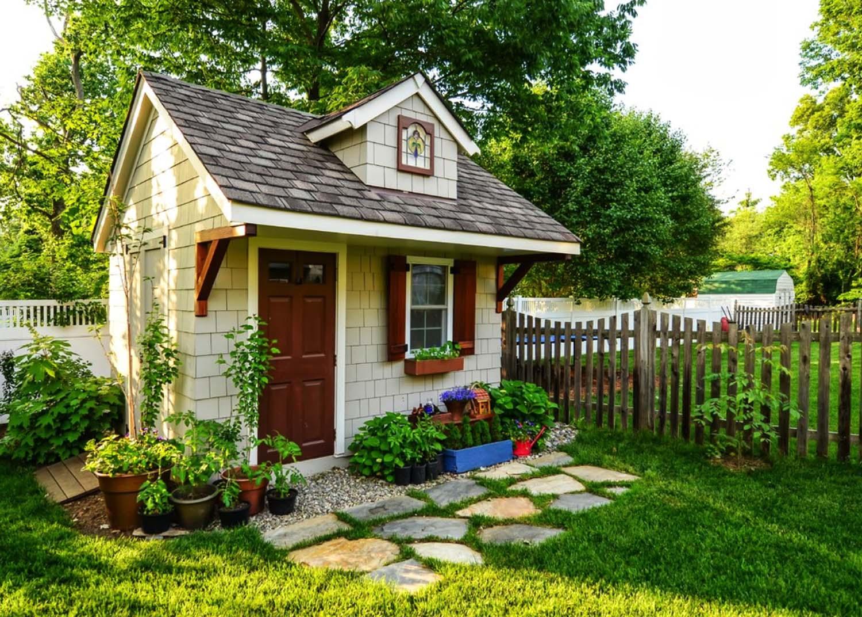 Build stylish garden shed designs