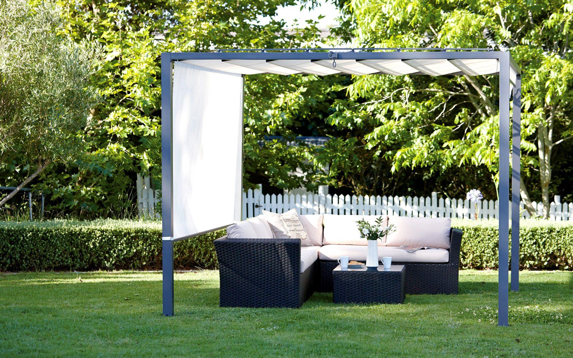 Stylish and beautiful garden shelter
