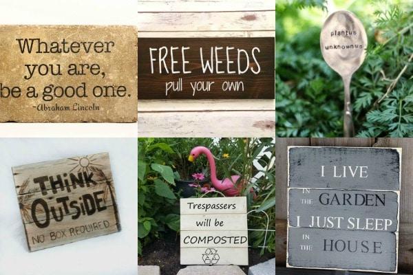 garden signs  91