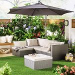 Stylish and luxurious garden sofa for garden