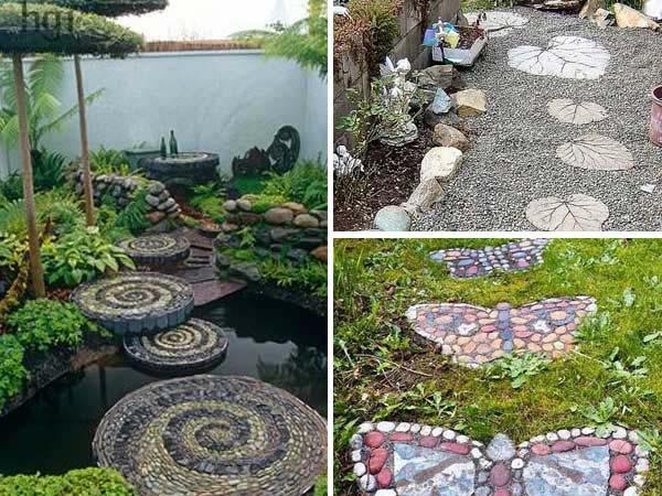 garden stepping stones  18