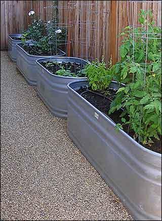 garden trough  12