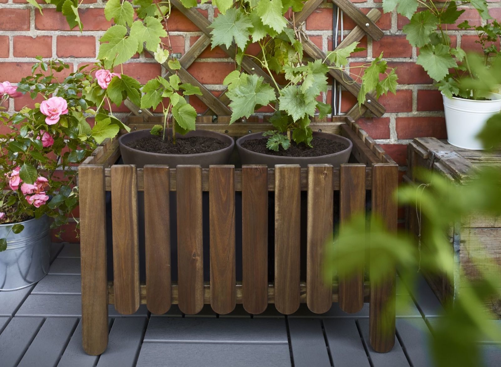 Making of a garden trough