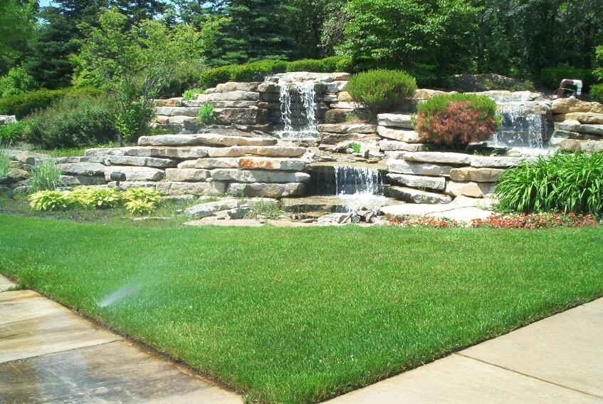 Garden Waterfalls  01
