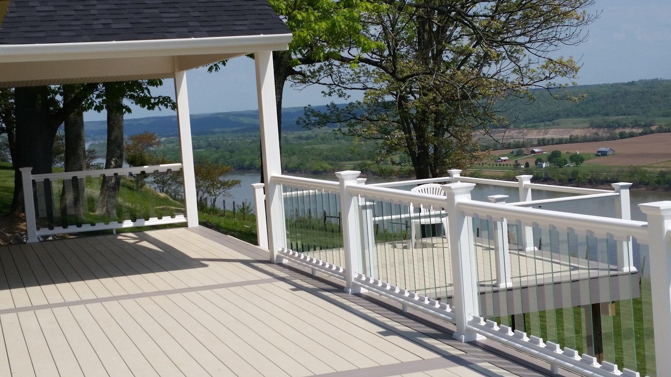 glass deck railings  37