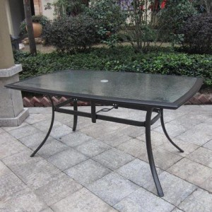 Glass patio table  50