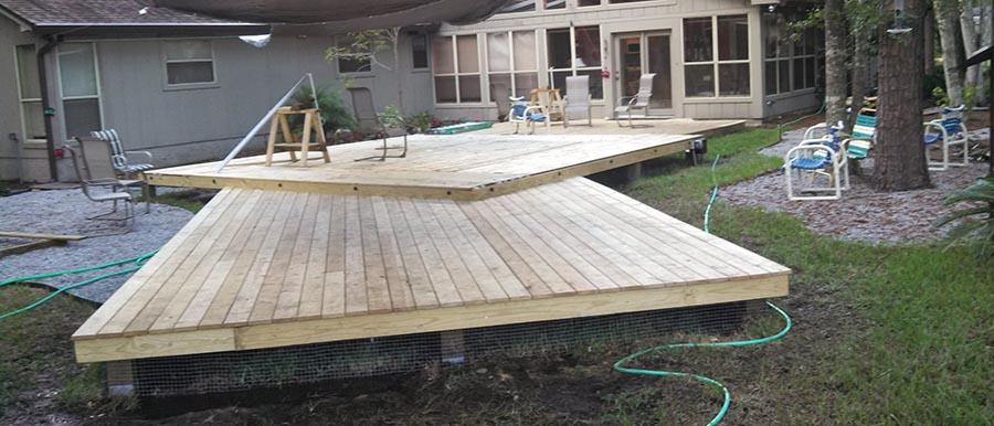 ground level deck  34