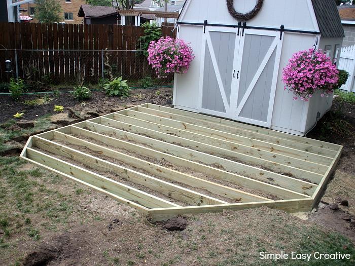 ground level deck  48
