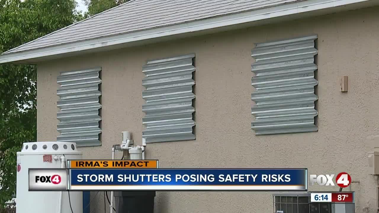 Hurricane shutters  15