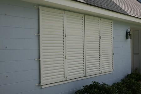 Hurricane shutters  52