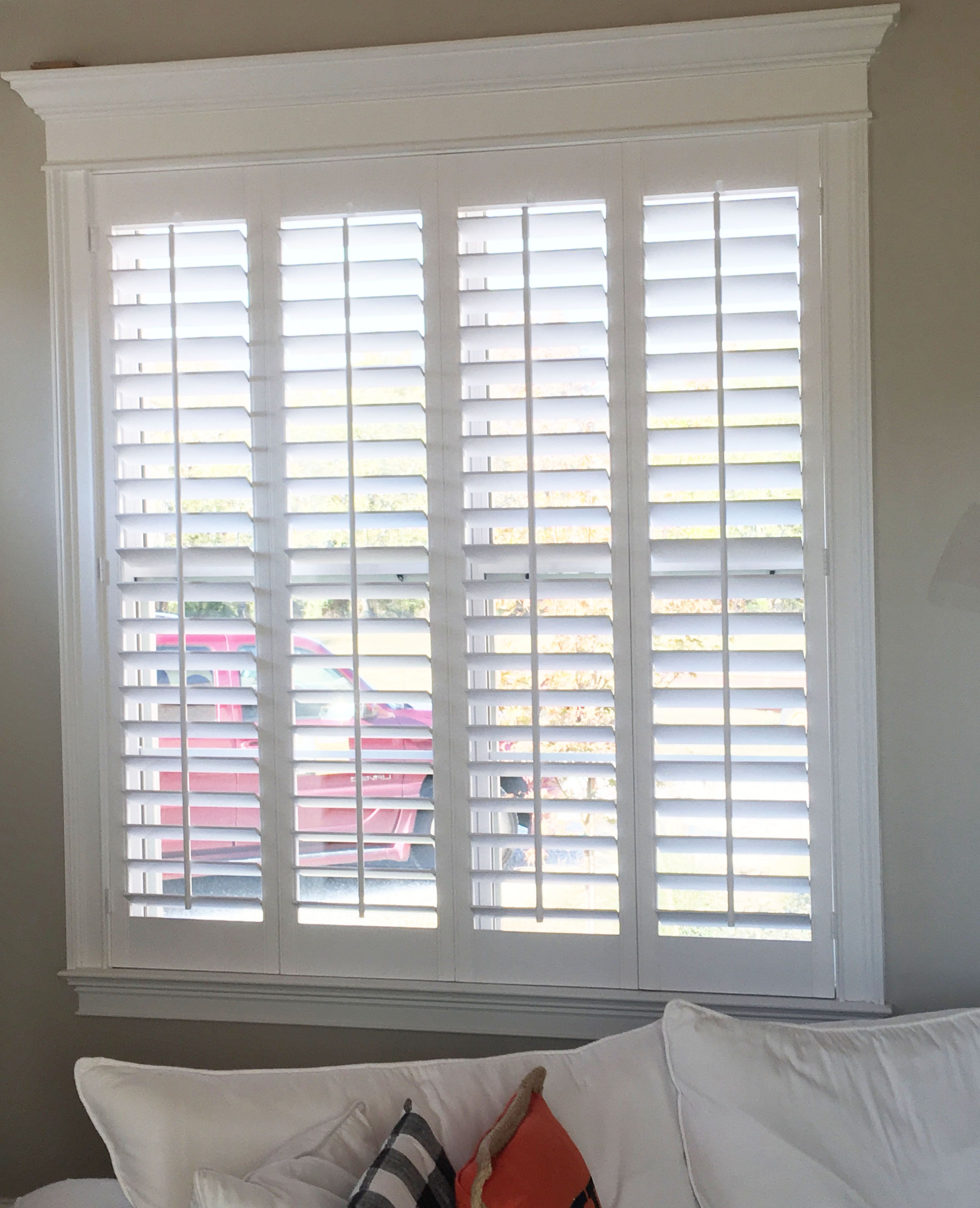Interior window shutters  23