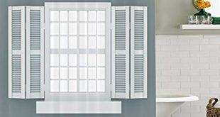 Interior window shutters  86
