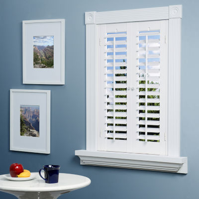 Interior window shutters  89