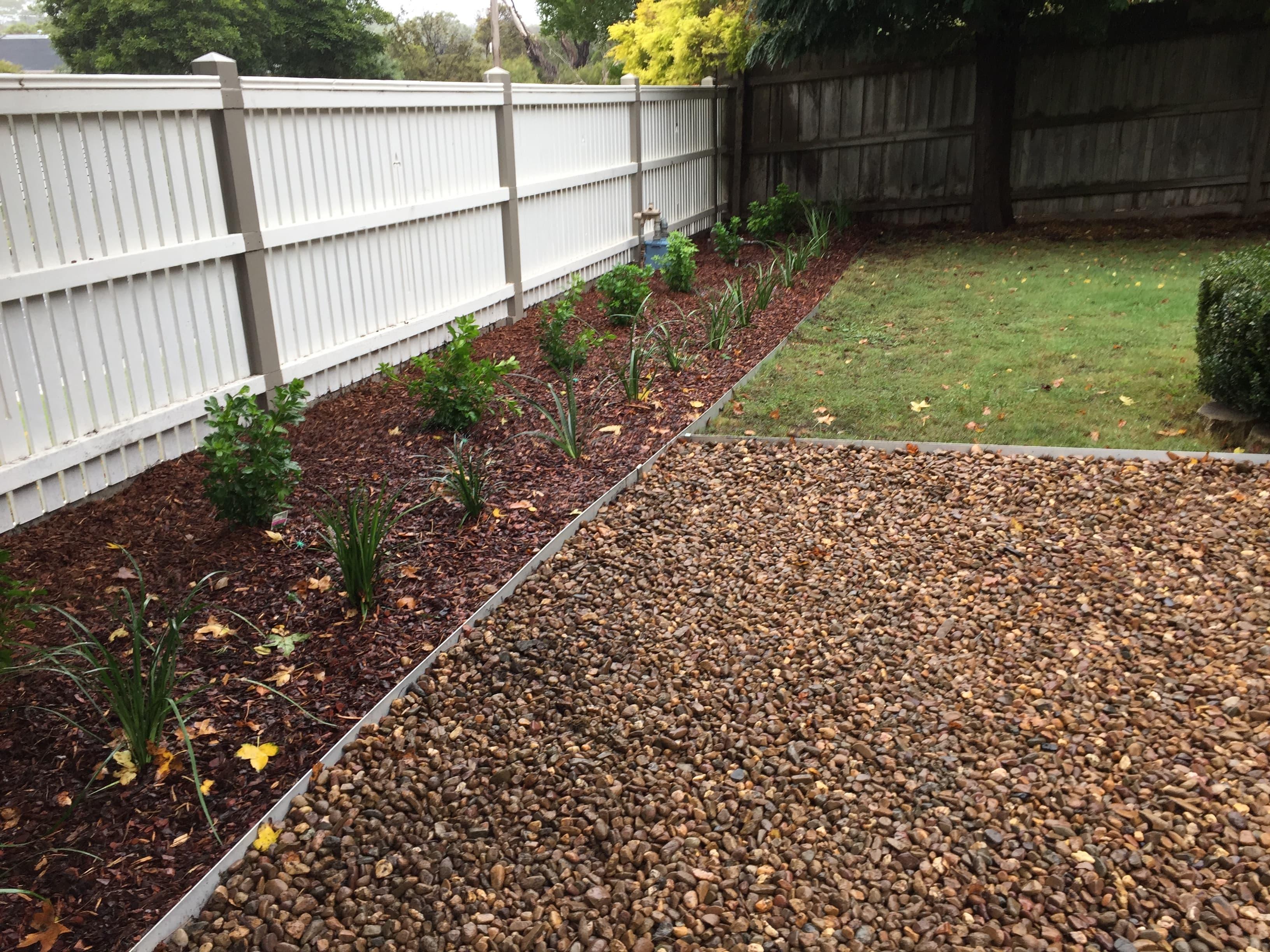Give your garden metal garden edging