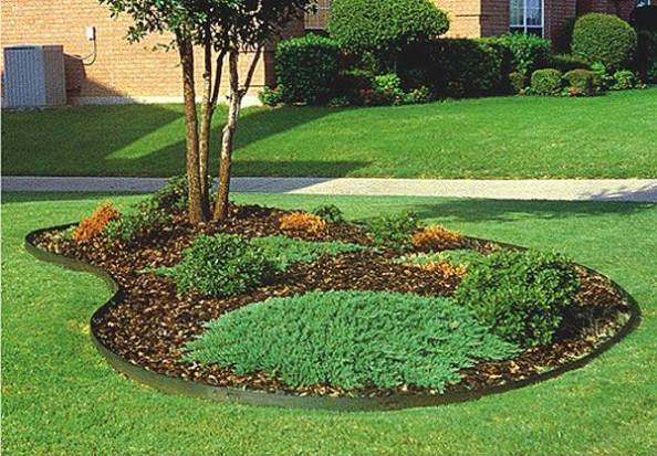 Metal landscape edging to add elegance to your garden