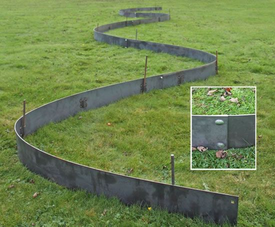 Metal landscape edging  30