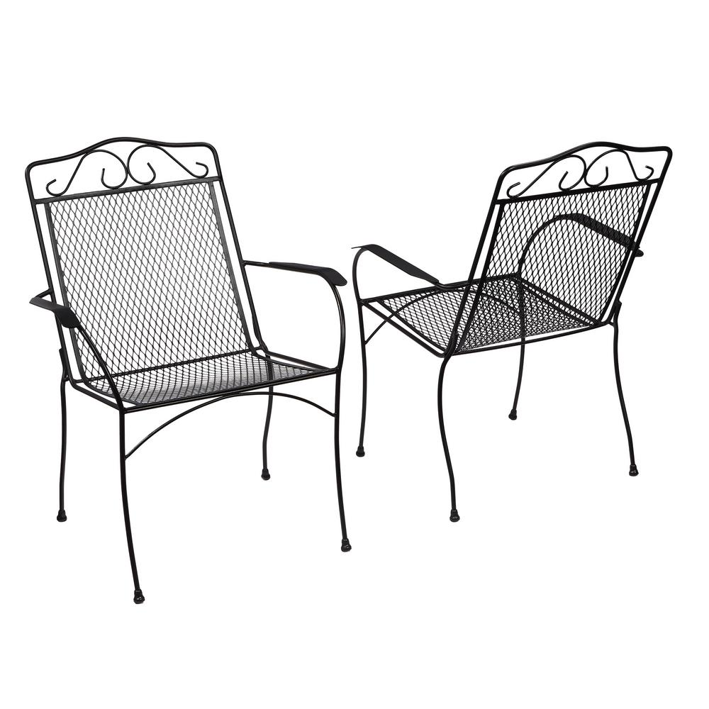 A great choice: metal patio chairs